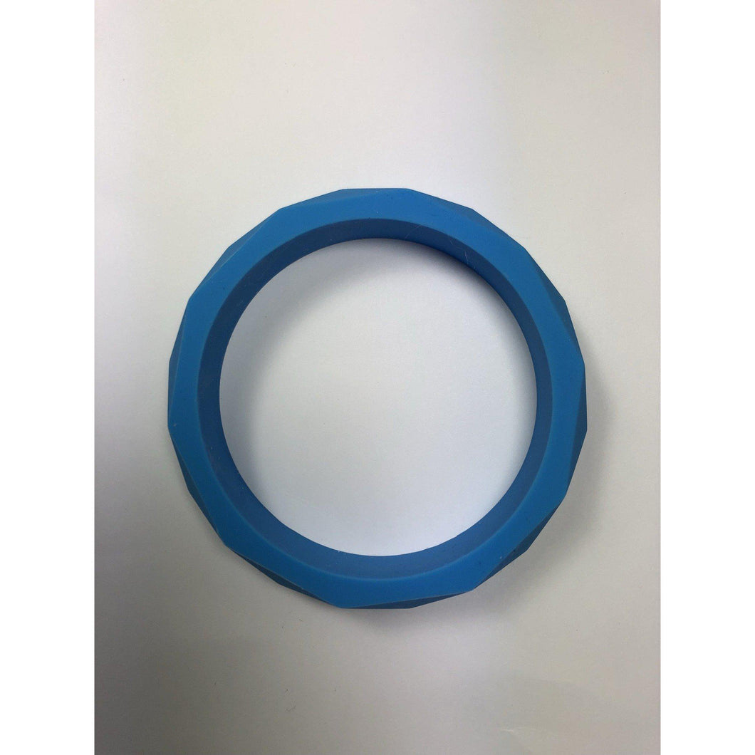 Teething Bangle - Blue-Chewie Cat-Chewie Cat