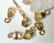 Load image into Gallery viewer, Citrine Drop Necklace // November