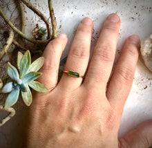 Load image into Gallery viewer, Tourmaline Stacking Ring || October