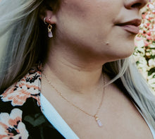 Load image into Gallery viewer, Tourmaline Drop Necklace // October