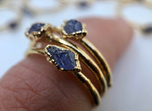 Load image into Gallery viewer, Tanzanite Stacking Ring || December