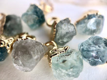 Load image into Gallery viewer, Aquamarine Drop Necklace // March