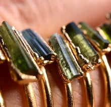 Load image into Gallery viewer, October Stacking Ring || Tourmaline