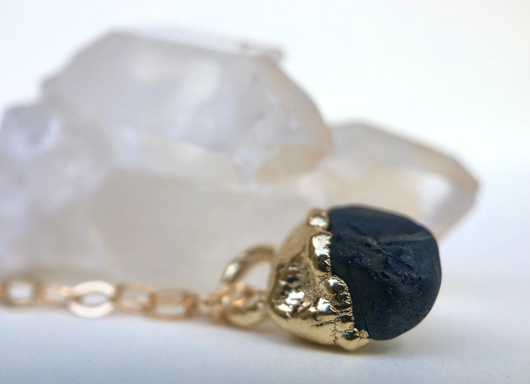 Spinel Drop Necklace // August