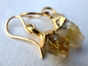 Citrine Drop Earrings