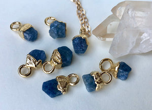 Sapphire Drop Necklace // September