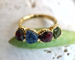 MOTHERS RING, CUSTOM BIRTHSTONE RING