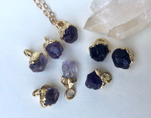 Load image into Gallery viewer, Amethyst Drop Necklace // February