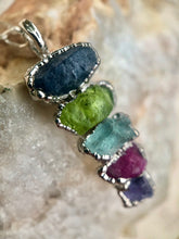Load image into Gallery viewer, MOTHERS NECKLACE, CUSTOM BIRTHSTONE NECKLACE