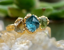 Load image into Gallery viewer, MOTHERS RING, CUSTOM BIRTHSTONE RING