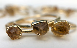 Citrine Stacking Ring || November