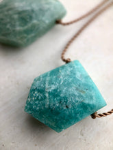 Load image into Gallery viewer, Amazonite Cord Necklace