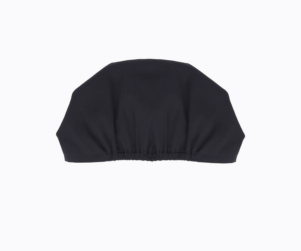 Top-Bun Turban- black