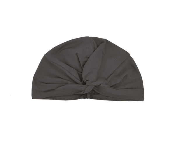 Micromodal Twist Turban- mineral grey