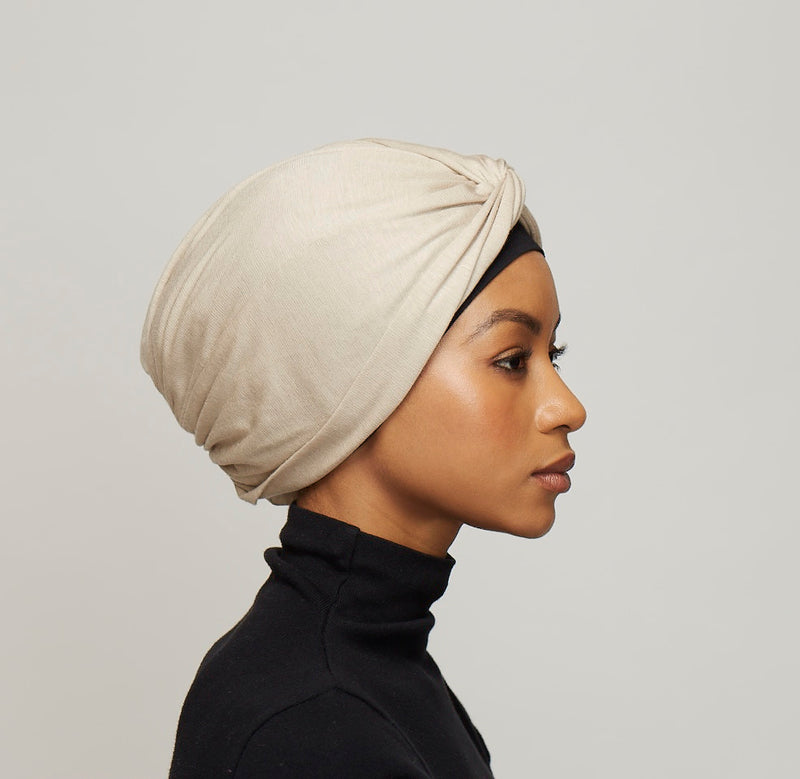 Rexcell Twist Turban- light mocha