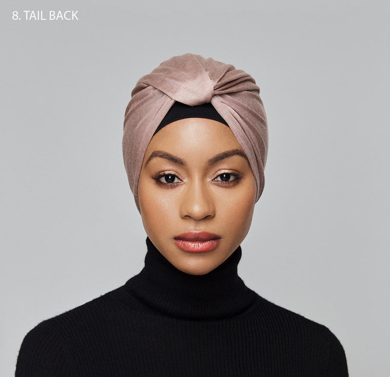 10-in-1 Turban- millennial pink