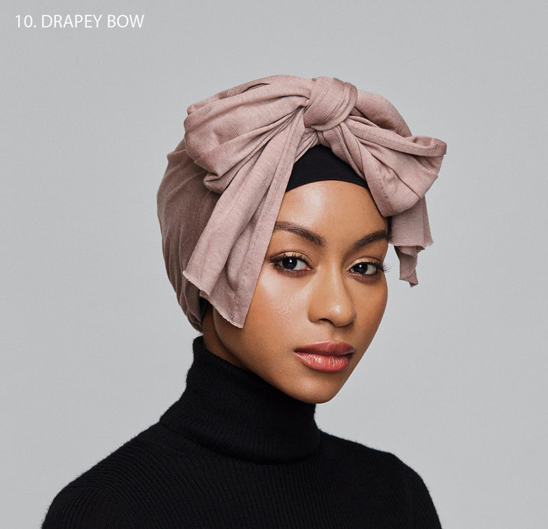 10-in-1 Turban- light mocha