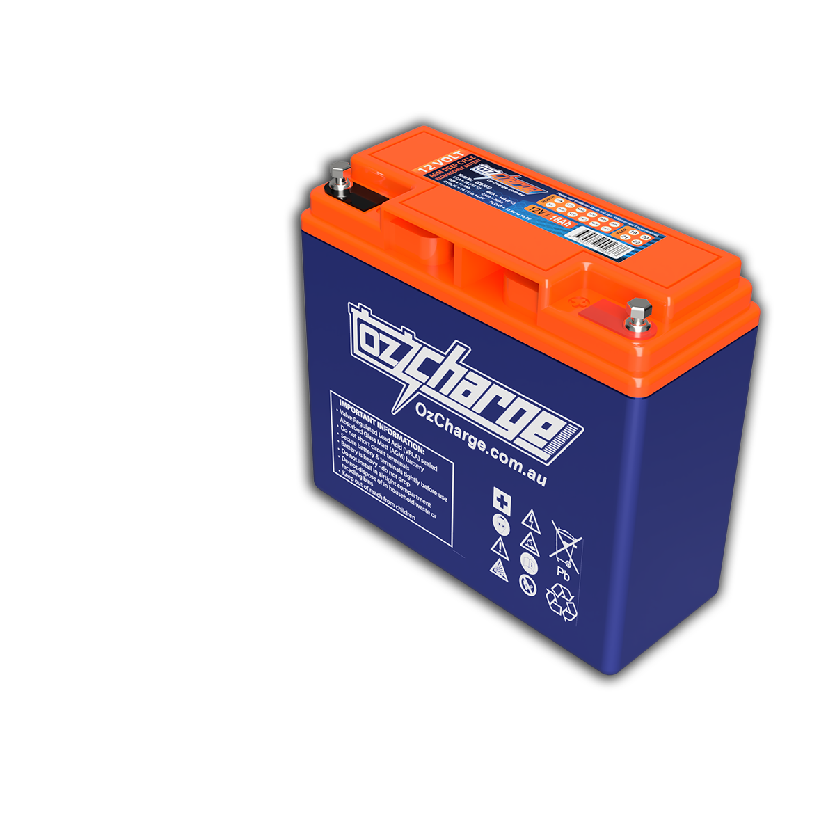 12V 18Ah AGM Deep-Cycle Battery