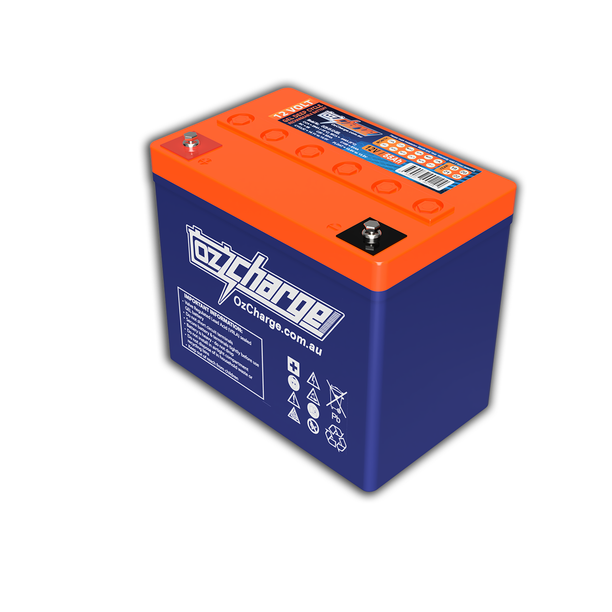 12V 55Ah GEL Deep-Cycle Battery