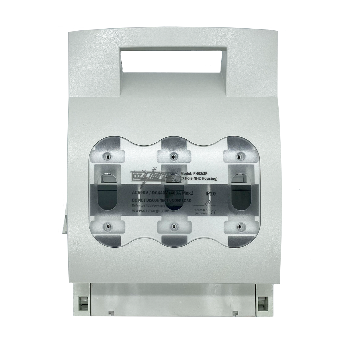 400A 3-Pole FH02(NH2) Fuse Housing