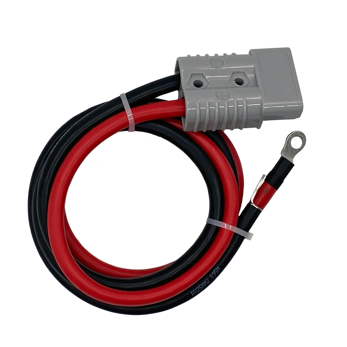 OzCharge 175A Ring Terminal Harness  – 1200mm 25mm2