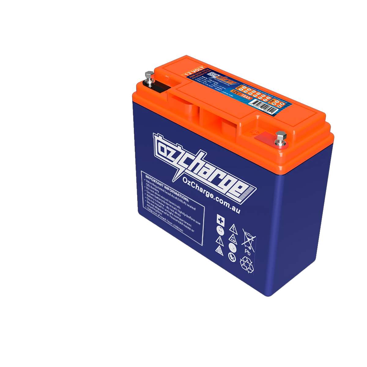 12V 18Ah GEL Deep-Cycle Battery