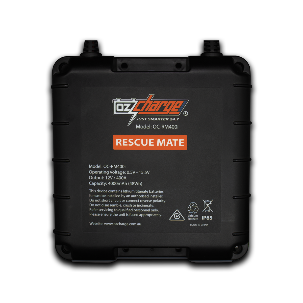 400A On-Board Jump Starter - Rescue Mate