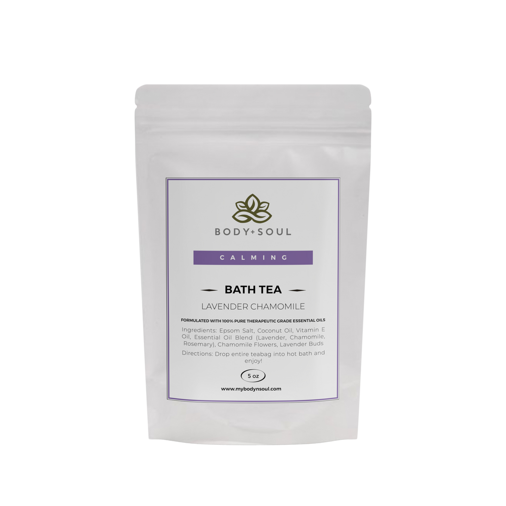Calming Bath Tea - Lavender Chamomile (Single)