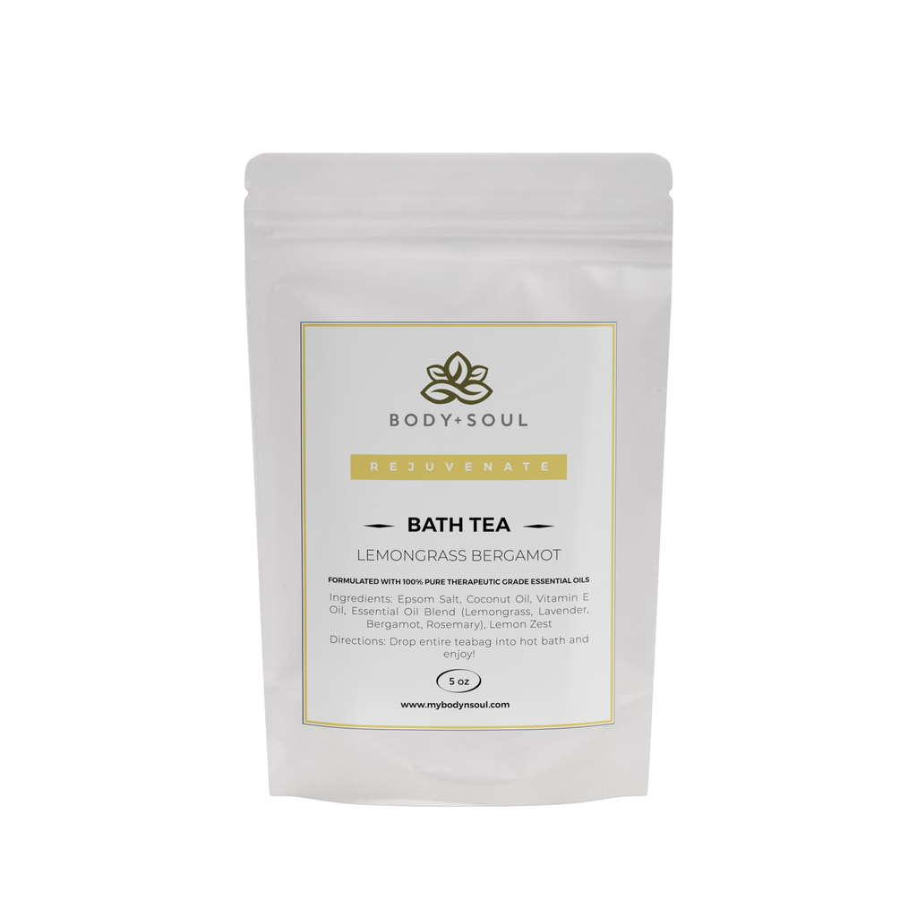 Rejuvenate Bath Tea - Lemongrass Bergamot (Single)
