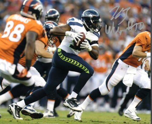 K.J. Wright Seattle Seahawks Signed 8x10 Photo #12 *FREE SHIPPING*