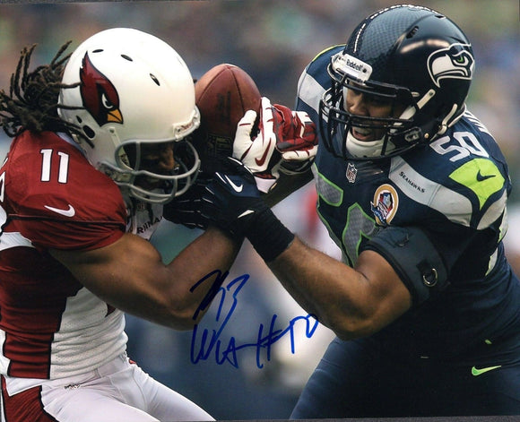 K.J. Wright Seattle Seahawks Signed 8x10 Photo #14 *FREE SHIPPING*