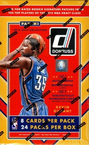 2015-16 Donruss Basketball Hobby Box 24/8