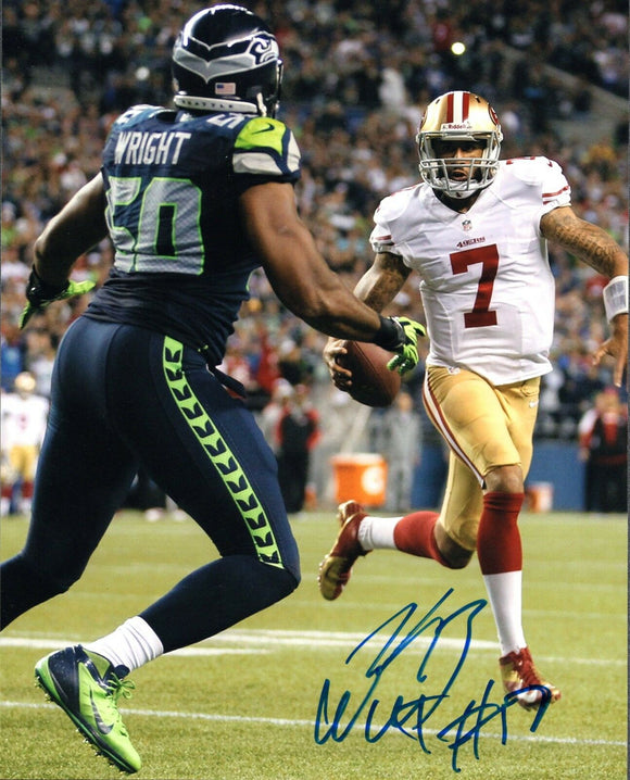 K.J. Wright Seattle Seahawks Signed 8x10 Photo #15 *FREE SHIPPING*