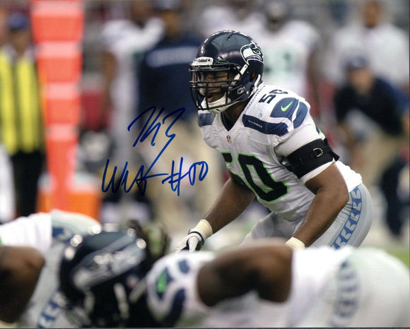 K.J. Wright Seattle Seahawks Signed 8x10 Photo #16 *FREE SHIPPING*