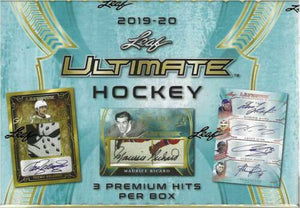 2019-20 Leaf Ultimate Hockey Hockey Hobby Box