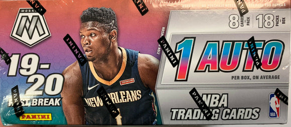 2019-20 Panini Mosaic Basketball Fast Break Box