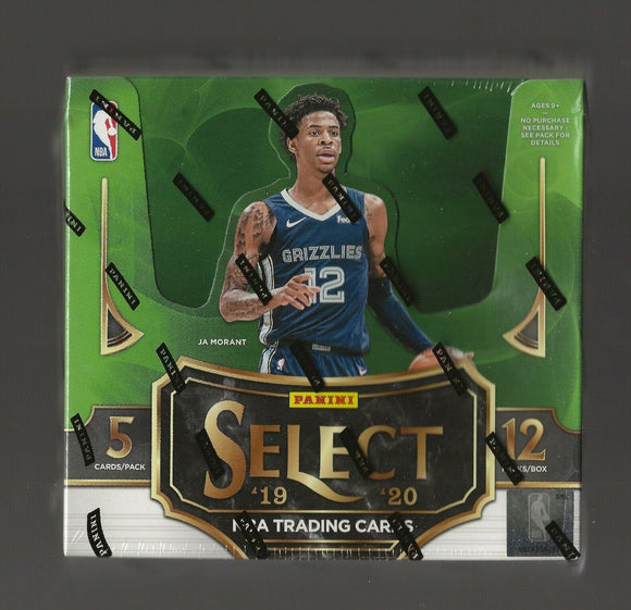 2019-20 Panini Select Basketball Hobby Box
