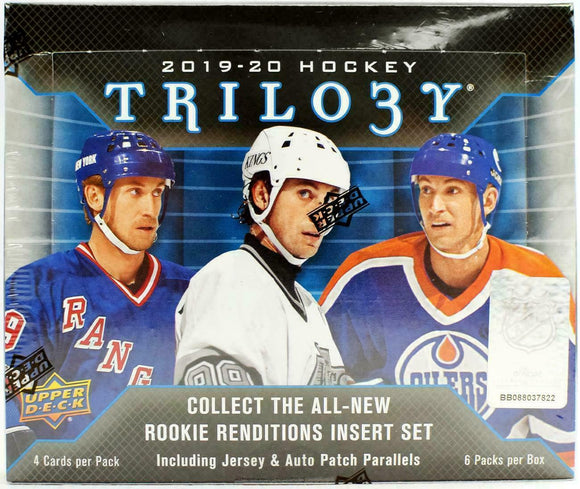 2019-20 Upper Deck Trilogy Hockey Hobby Box