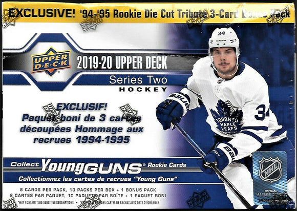 2019-20 Upper Deck Series Two 2 Hockey Mega Box