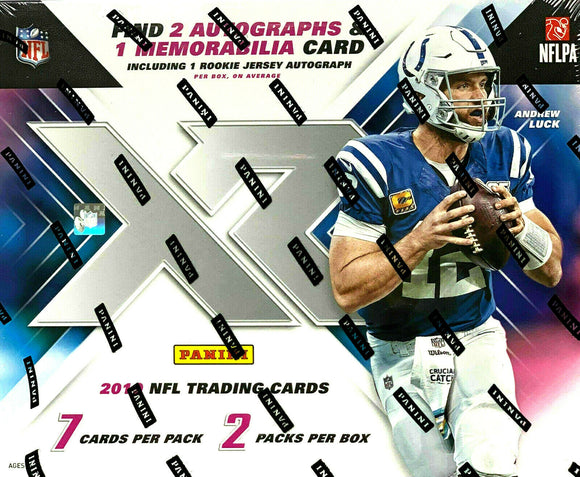 2019 Panini XR NFL Football Hobby Box