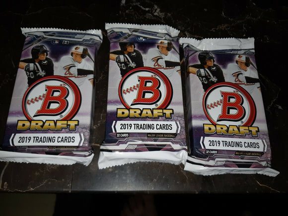 2019 Bowman Draft Baseball Jumbo Pack