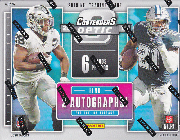 2019 Panini Contenders Optic Football Hobby Box