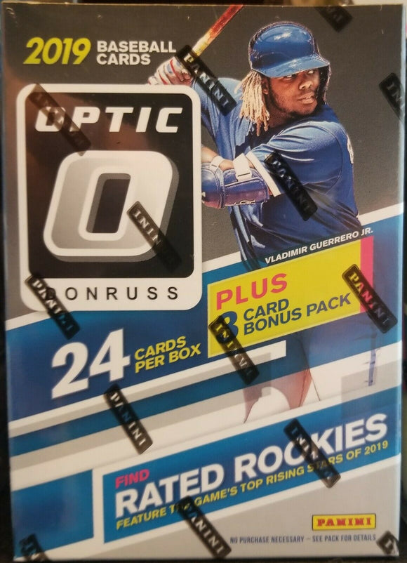 2019 Donruss Optic Baseball Blaster Box