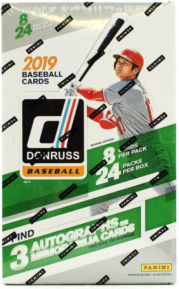 2019 Donruss Baseball Hobby Box