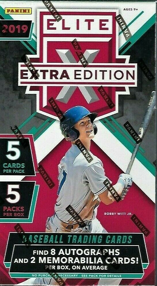 2019 Elite Extra Edition Baseball Hobby Box