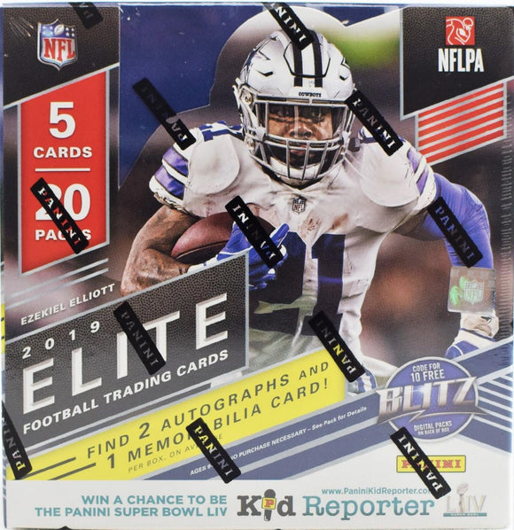 2019 Panini Elite Football Hobby Box