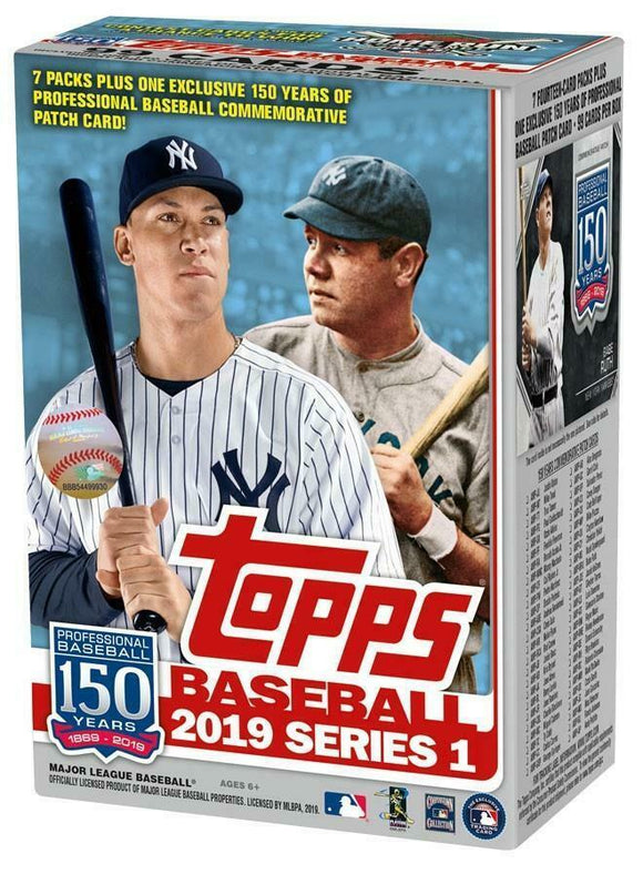 2019 Topps Series 1 Baseball Blaster Box