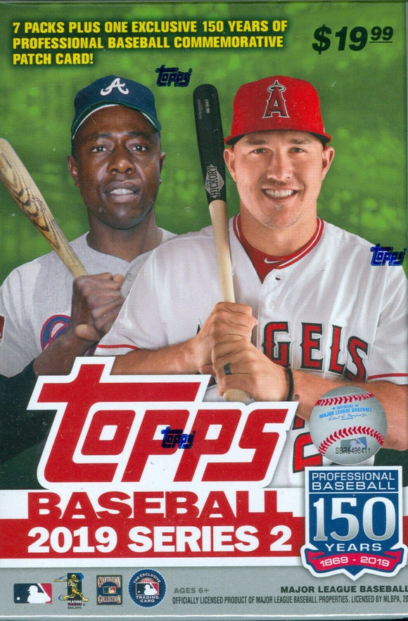 2019 Topps Series Two 2 Baseball Blaster Box