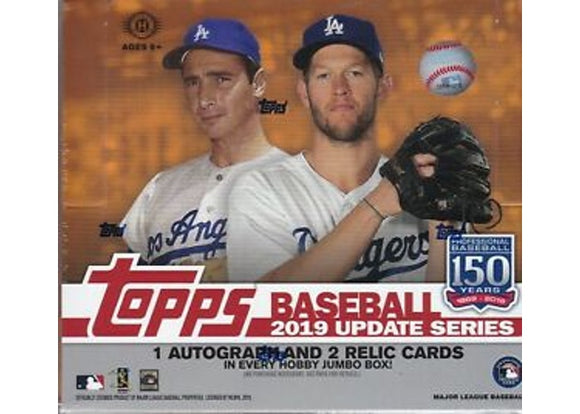 2019 Topps Update Baseball HTA Jumbo Box