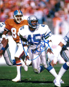 Kenny Easley Seattle Seahawks Signed 8x10 Photo #1   *FREE SHIPPING*